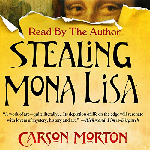 Stealing Mona Lisa audiobook cover art