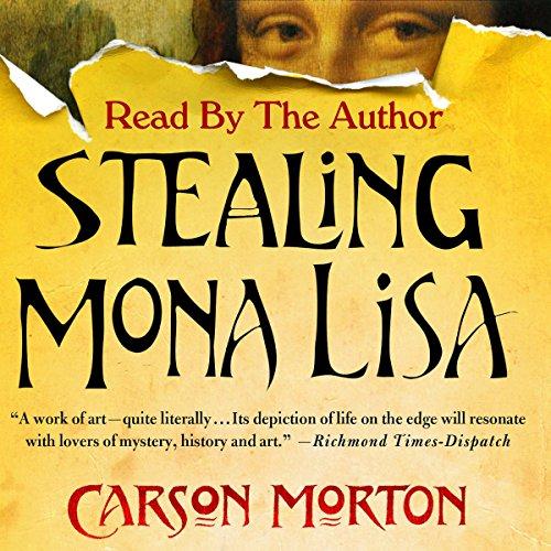 Stealing Mona Lisa audiobook cover art