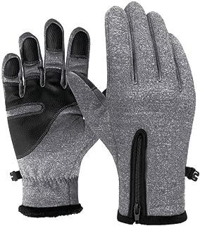 SUMTTER Touchscreen Handschuhe Winterhandschuhe wasserdichte Winddicht Sporthandschuhe Uniesex Outdoor fahrradhandschuhe