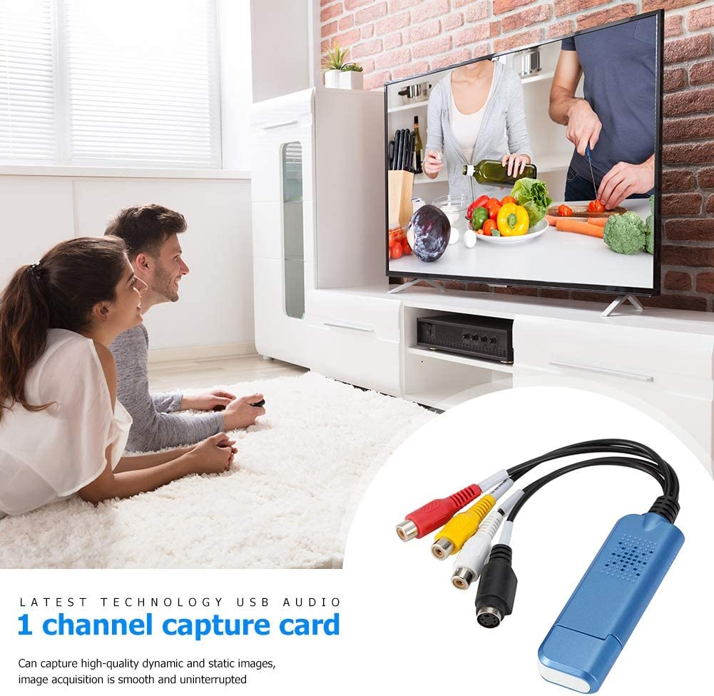 USmbuy Sales results No. 1 VHS Capture Device Video Grabber Vide TV Adapter specialty shop PC Audio