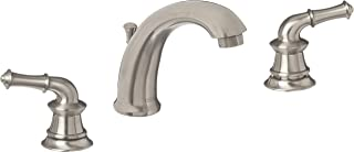 Just Manufacturing JLR-801-DA-N - Brushed Nickel Two Handle Bathroom/Lavatory Widespread Faucet