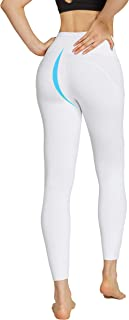 slimour Women High Rise Dance Leggings Golf Pants Seamless Running Tights Tummy Control