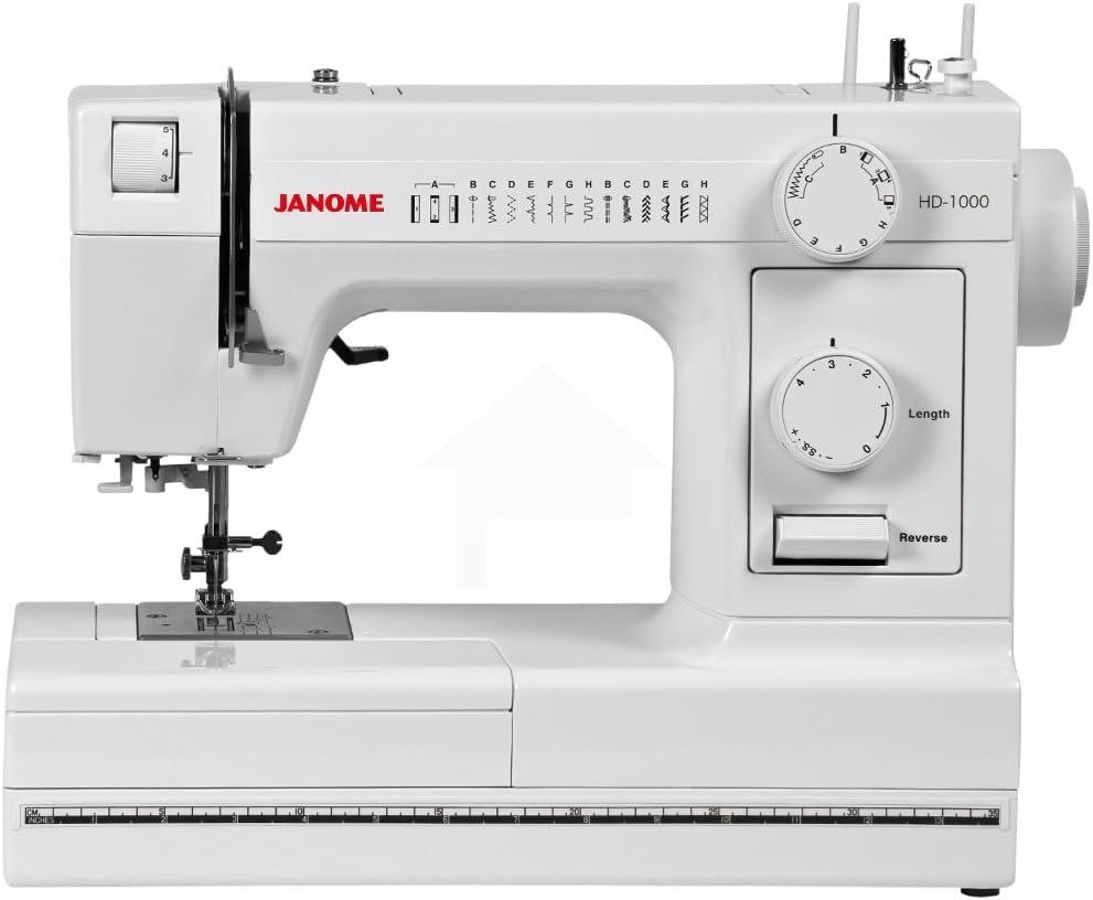 (Ship from USA) Janome HD1000 Mechanical MachinePLKHG484UY2840