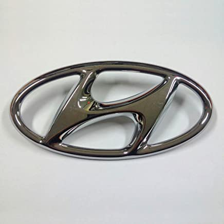 Sell by Automotiveapple, Hyundai Motors Genuine 86300C1100 Front Hood H Logo Emblem 1-pc