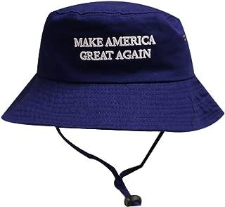 City Hunter Bd2024 Trump Make America Great Again Bucket Hat Navy
