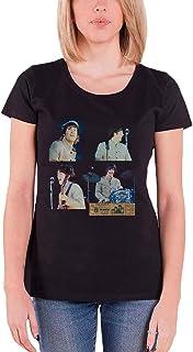The Beatles T Shirt Shea Stadium Shots Logo 新しい 公式 レディーズ Skinny Fit Size XXL