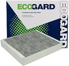 ECOGARD XC36154C Cabin Air Filter with Activated Carbon Odor Eliminator - Premium Replacement Fits Chevrolet Cruze, Malibu, Sonic / Cadillac SRX / Buick LaCrosse, Encore, Verano / Chevrolet Trax