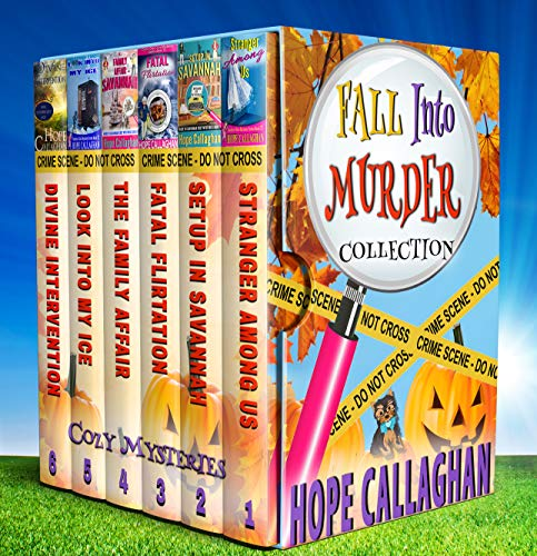 Fall into Murder Cozy Mysteries Box Set Collection: Fun Fall Reading - 6 Fall Cozy Mystery Ebooks in One