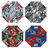 CERDÁ LIFE'S LITTLE MOMENTS- Paraguas Automático Infantil Heroes Licencia Oficial Marvel, Color Azul (2400000537_T45C-C56)