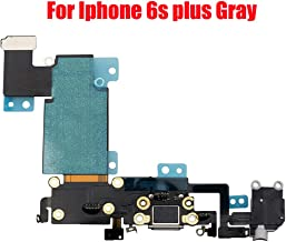 Afeax Compatible with OEM Original Replacment for iPhone 6S Plus USB Charging Port Dock Connector Flex Cable + Microphone + Headphone Audio Jack Replacement for iPhone 6s Plus 5.5