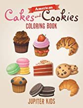 American Cakes and Cookies Coloring Book
