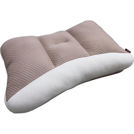 アイリスオーヤマ 枕 匠眠 高さ調整8通り 通気性抜群 洗える ハイクラス ハード Mサイズ ブラウン