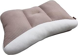 アイリスオーヤマ 枕 匠眠 高さ調整8通り 通気性抜群 洗える ハイクラス  ソフト Mサイズ ブラウン