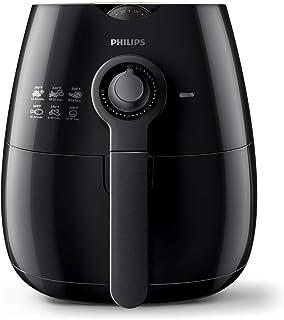 مقلاة هوائية من فيليبس بسعة 800 غرام، اسود - HD9220