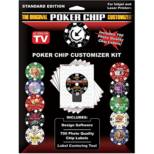 Brybelly The Original Poker Chip Customizer by