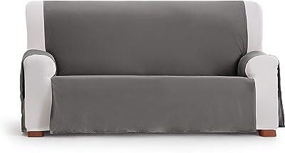 Eysa Somme Protect Imperméable et Respirant Housse de canapé 100% Polyester, Gris, 150 cm.