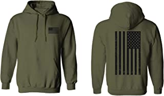 Vintage American Flag United States of America Military Army Marine us Navy USA Hoodie