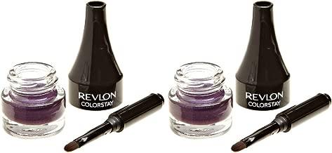 (X2) Revlon ColorStay Creme Gel Eye Liner Easy Glide #003 Plum 2 Pack!