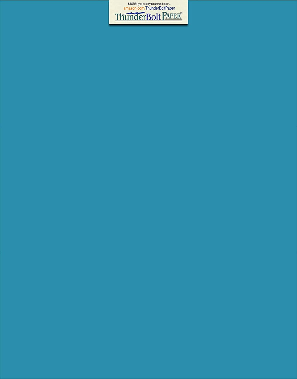 25 Bright Aqua Blue Cardstock 65lb Cover Paper 11 X 14 Inches Scrapbook|Picture-Frame Size - 65 lb/pound Light Weight Cardstock - Quality Smooth Paper Surface