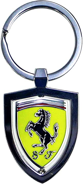 Portachiavi ferrari branded sports merchandising b.v scuderia ferrari 130191055-802