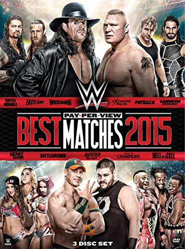 WWE: Best PPV Matches 2015 (DVD)