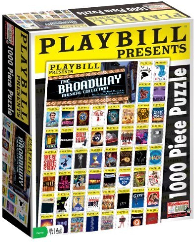 ahorra hasta un 50% Jugarbill Broadway Cover Puzzle, 1000 1000 1000 Piece by Endless Juegos  productos creativos