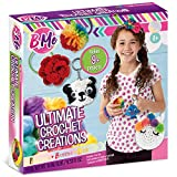 Ultimate Crochet by B Me – Crochet Kit for Girls – Knitting Kit for Beginners with Yarn and Hook – DIY Craft Kit for Kids & Teens - Make Yarn Pom Poms – Gift Set for Girls – Ages 8 & Up