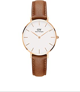 Daniel Wellington Women's Analogue Quartz Watch with Leather Strap DW00100184