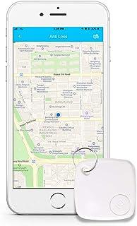 キーファインダー 忘れ物防止 タグ 鍵 スマートフォン 財布などの紛失防止タグ Bluetooth4.0搭載するスマホに対応(ホワイト、一個)