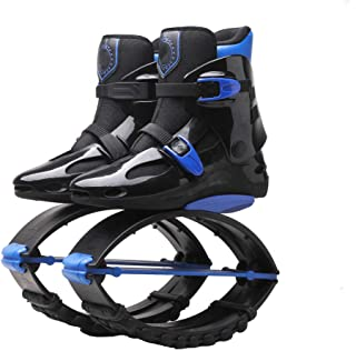 Jumping Shoes, Unisex Fitness High Strength Jumps Shoes Slimming Body Shaping Shoes with Sports Shoes,Blue,42/44