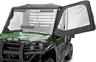2016-2020 KAWASAKI MULE PRO-FX PRO-DX SOFT CAB DOORS BLACK KAF080-068