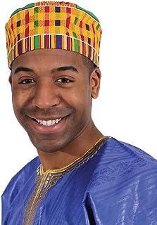 Kente Kufi Kofi Cap Hat Style #1