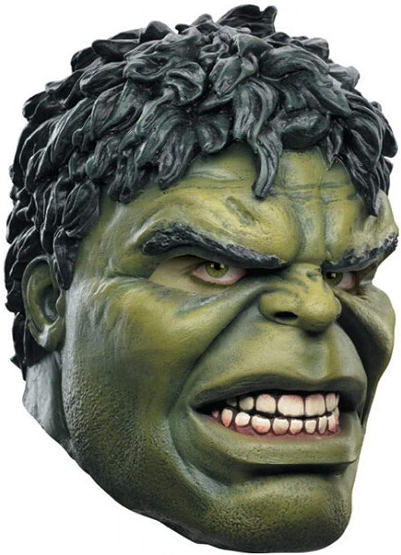ZhangHD Hulk Latex Mask NEW before selling Cosplay Halloween Masq Superhero Max 41% OFF Costume