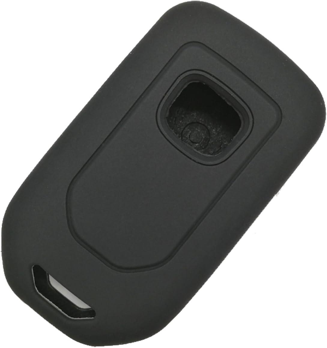 2Pcs Coolbestda 7buttons Key fob Cover Remote Control Keyless Jacket Holder Bag Case for 2020 2019 2018 Honda Odyssey elite ex