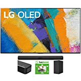 LG OLED65GXPUA 65-inch GX 4K Smart OLED TV with AI ThinQ (2020) Bundle SN5Y 2.1 Channel High Res Audio Sound Bar with DTS Virtual:X and Taskrabbit Installation Service + Wall Mount Kit