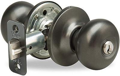 Kwikset 450P-26DS Storeroom Function Keyed Entry Smart Key Door Knobset
