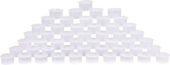 Pool Fence Hole Cover Deck Patio Ground Caps White//Transparent