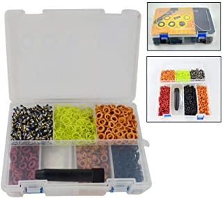 PQY Fuel Injector Rebuild Spare Parts Fuel Injector Repair Service Kits Micro Filter O-Ring Seals Caps + Removal Tool