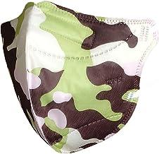 Máscaras KN95 Camuflada verde, marrom e rosa Infantil- Kit de 10, 20, 30, 40, 50, 100 Unidades - FPP2 PFF2 - Filtragem > 9...
