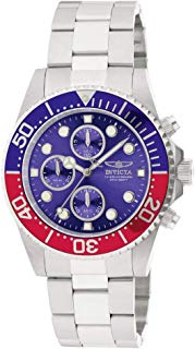 Invicta Men's 1771 Pro Diver Collection Stainless Steel Chronograph Watch