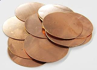 copper disc blanks