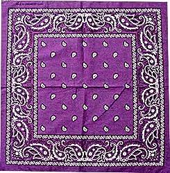 Dark Purple Bandana