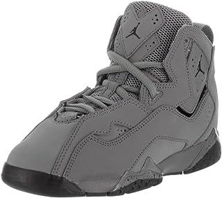 separation shoes 601ee d3480 Jordan Nike Kids True Flight Bp Cool Grey Black Basketball Shoe 11.5 Kids US