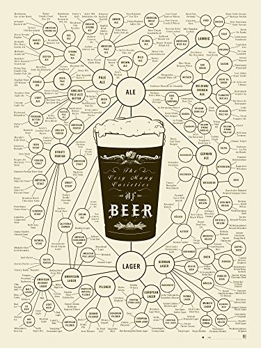 Beer Types Poster