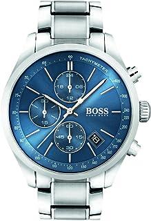 Hugo Boss Grand Prix, chronograph Men's Watch, Silver - 1513478