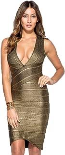 Gold Bodycon Dress