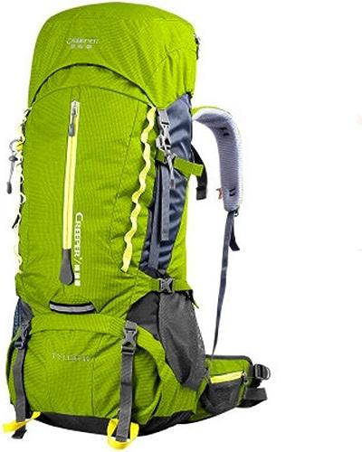 Je vais agir maintenant Sports de Plein air 60L Sac d'alpinisme Sac à Dos étanche Sac de Voyage Sac de randonnée en Plein air Sac de Voyage pour Hommes et Femmes