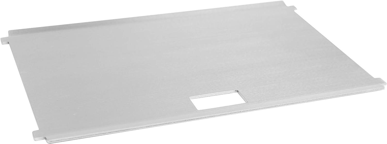 FENNEK Plancha - Plancha para Barbacoa Desmontable de carbón - Diseño Compacto de Acero Inoxidable - Ideal para Acampar, autocaravanas, el jardín y el Aire Libre