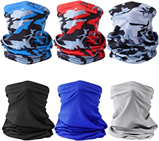 6Pcs Sun UV Protection Face Mask Neck Gaiter Windproof...
