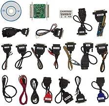 HaoYiShang OBDII Scan Tool V10.93 Full Set 21 Connector Accessories 1Set Support Airbag Reset Dash IMMO MCU//ECU BI1304